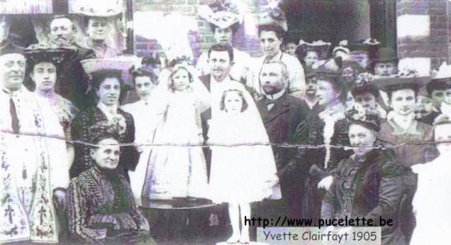 Photo de la Pucelette de Wasmes 1905