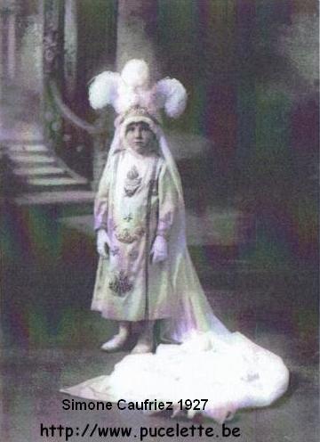 Photo de la Pucelette de Wasmes 1927