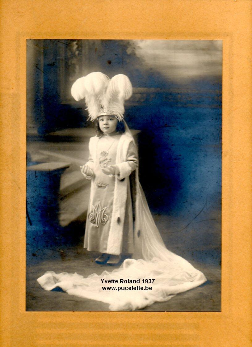 Photo de la Pucelette de Wasmes 1937