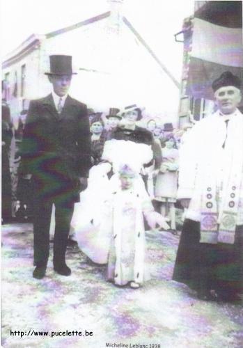 Photo de la Pucelette de Wasmes 1938