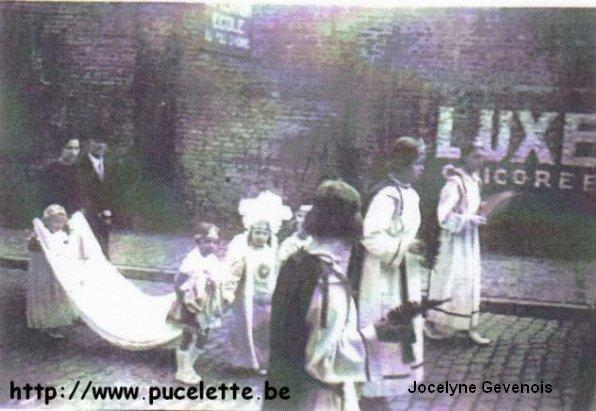 Photo de la Pucelette de Wasmes 1939