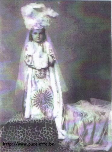 Photo de la Pucelette de Wasmes 1946