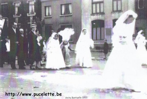Photo de la Pucelette de Wasmes 1953