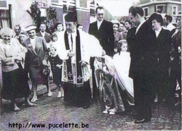 Photo de la Pucelette de Wasmes 1957