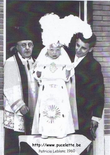 Photo de la Pucelette de Wasmes 1960