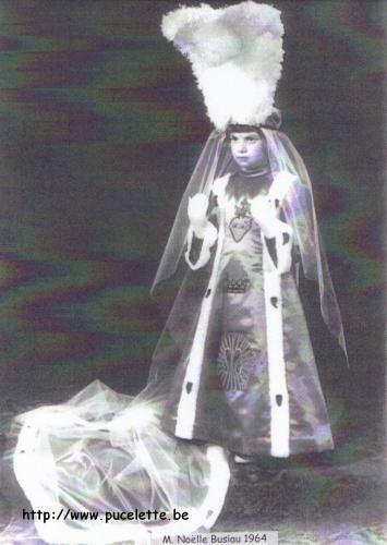 Photo de la Pucelette de Wasmes 1964