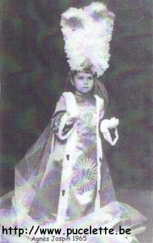Photo de la Pucelette de Wasmes 1965