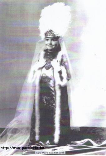 Photo de la Pucelette de Wasmes 1968