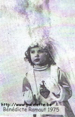 Photo de la Pucelette de Wasmes 1975
