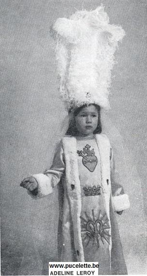 Photo de la Pucelette de Wasmes 1983