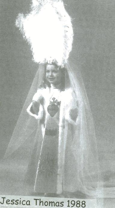 Photo de la Pucelette de Wasmes 1988