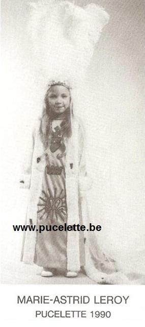 Photo de la Pucelette de Wasmes 1990