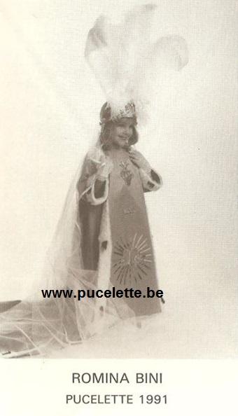 Photo de la Pucelette de Wasmes 1991
